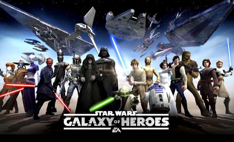 Star Wars Galaxy Of Heros