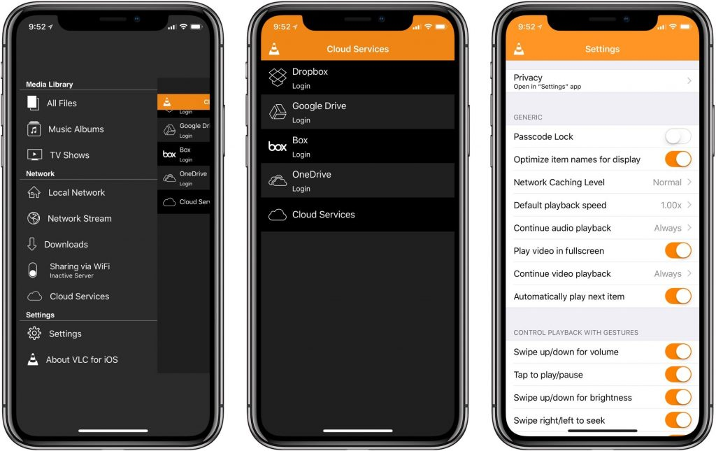 VLC media player for iOS optimized for iPhone X, gets