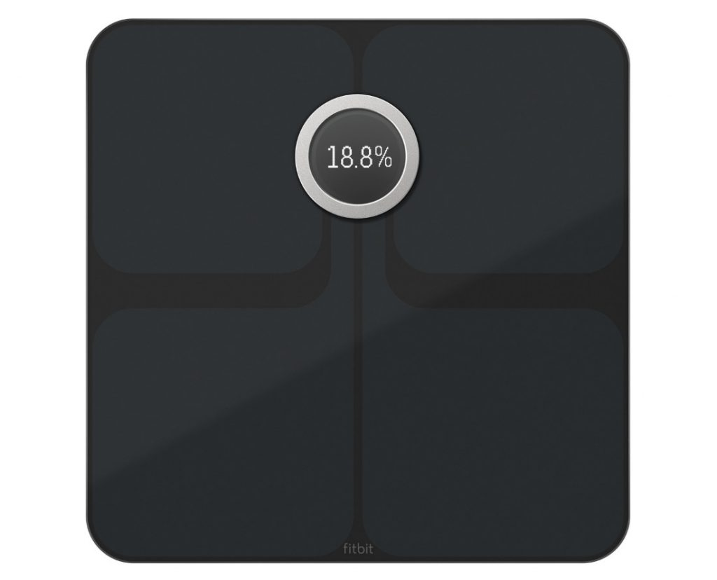 Fitbit Ionic Smartwatch Flyer Wireless Headphones And Charcoal Smoke Gray The Aria 2 Wi Fi Smart Scale Connects To Smartphone Over Bluetooth Helps You Track Understand Your Body Composition Including Weight