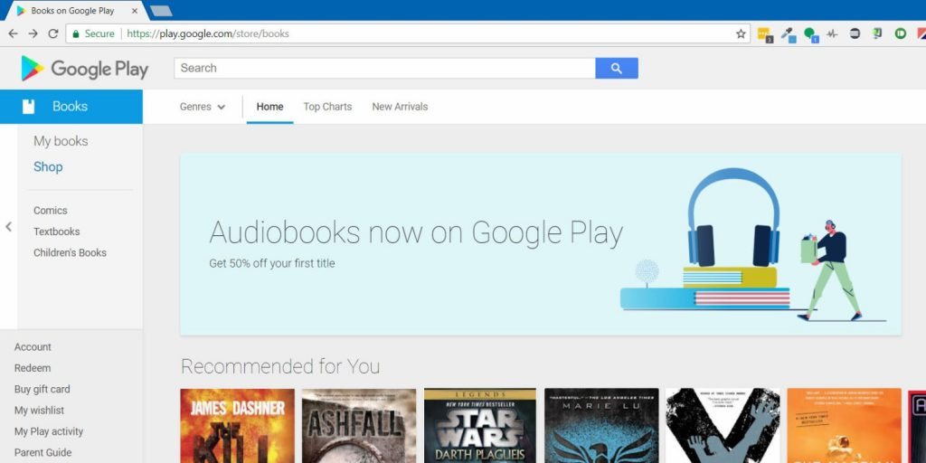 Google Play Books v4 hints at audiobooks with casting, Android auto