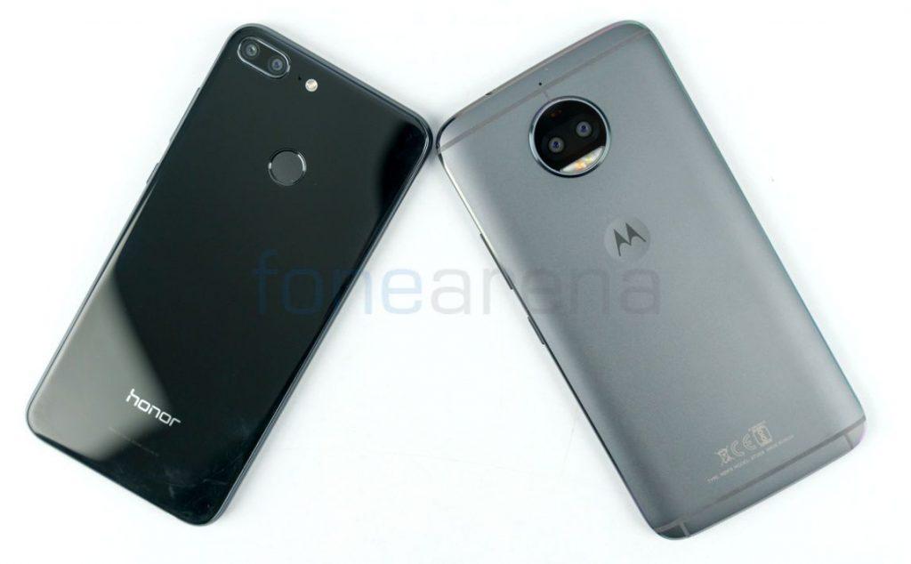 Honor 9 Lite vs Moto G5S Plus