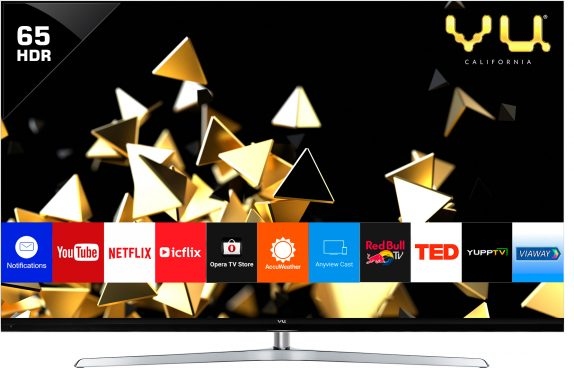 Vu 65-inch 4K HDR LED TV