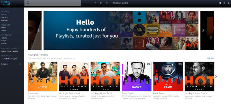 Amazon Prime Music launched in India, free for Amazon Prime users on