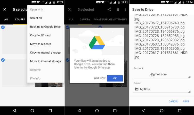 Latest version drive gmail