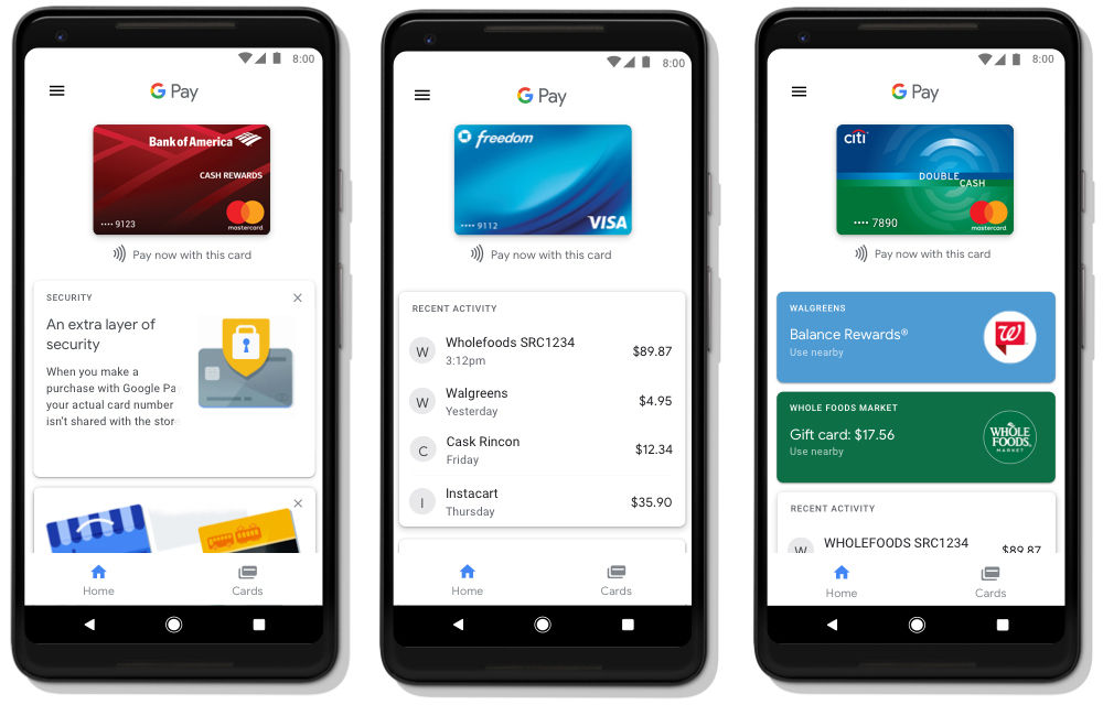 Google Pay roll out begins today, replaces Android Pay