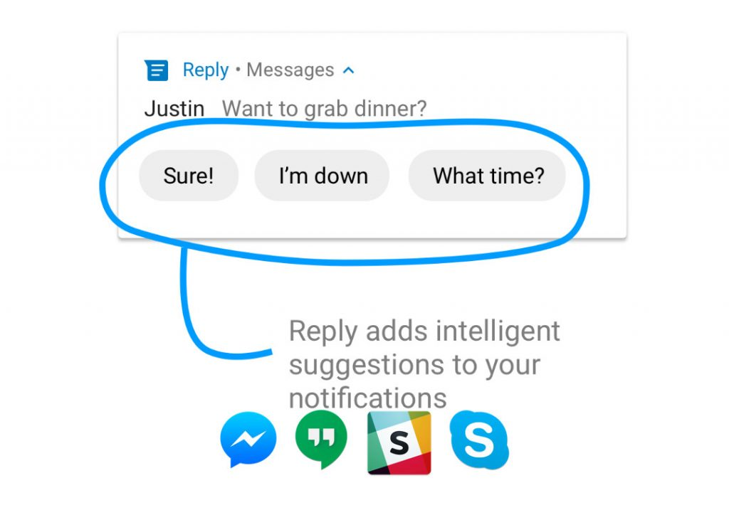Google Reply smart quick reply app now available for download