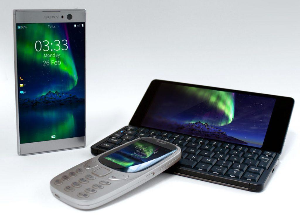 Jolla Sailfish 3 devices