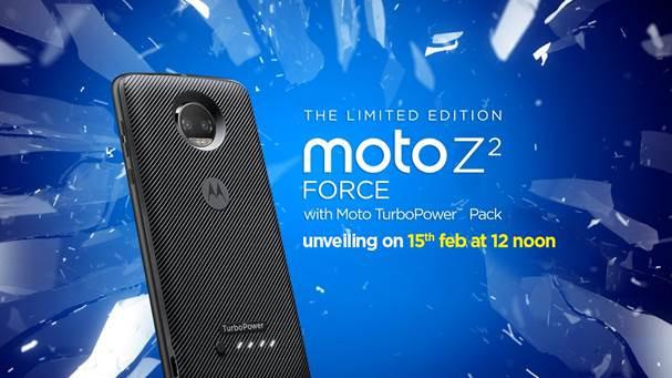 Moto Z2 Force with Shatterproof display, Moto TurboPower pack bundle