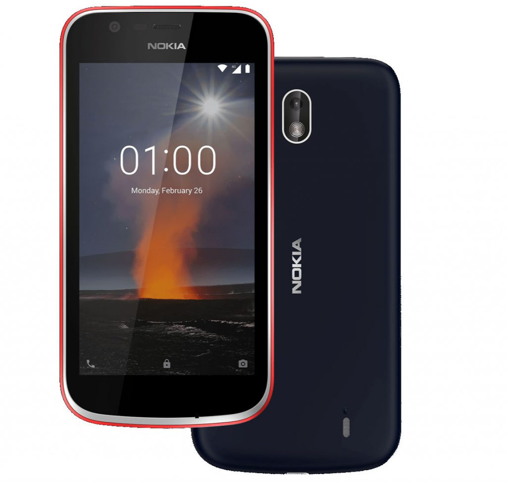 Nokia 1 Android Oreo (Go Edition) smartphone with 4 5-inch