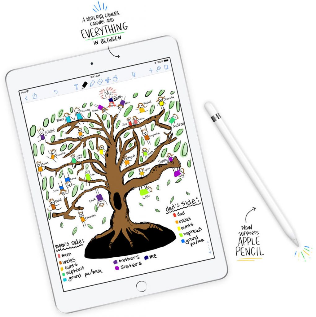 new concept fcbab a11fd Apple introduces new 9.7-inch iPad with A10 Fusion chip, Apple ...