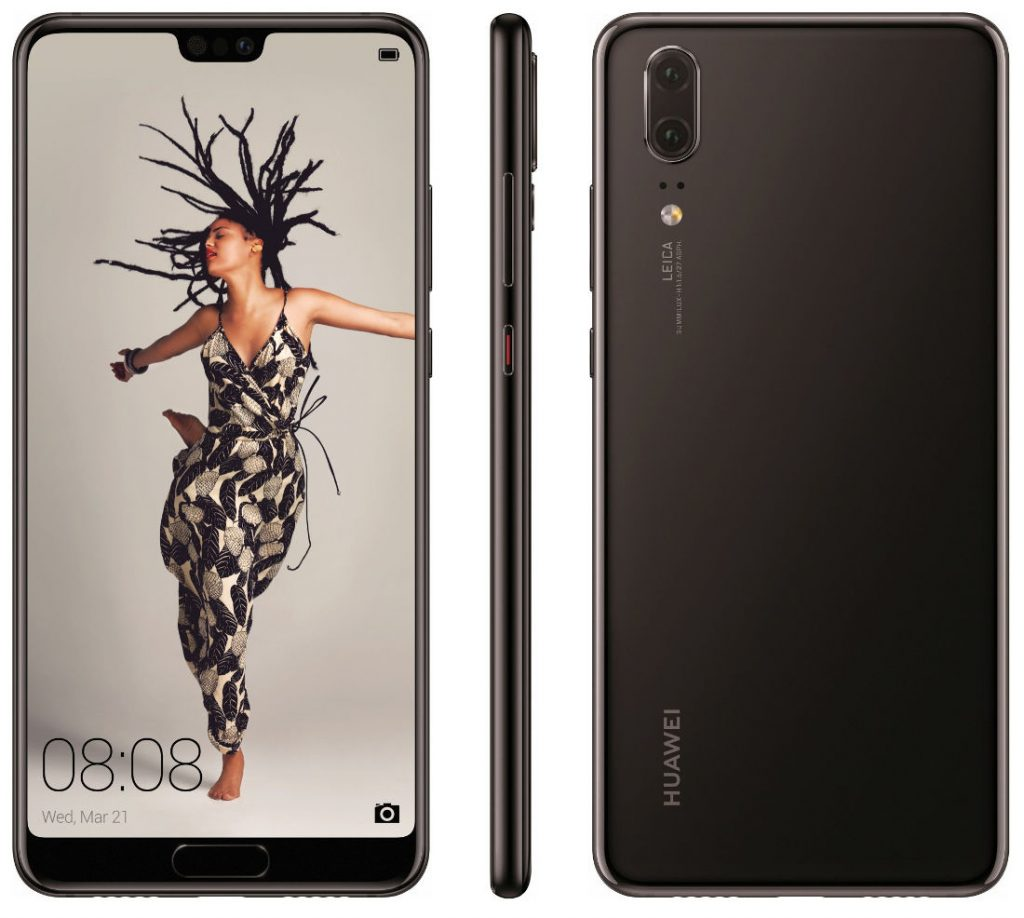 Huawei P20, P20 Lite and triple LEICA lens-camera P20 Pro press