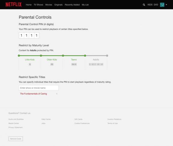 Netflix_Parental_controls