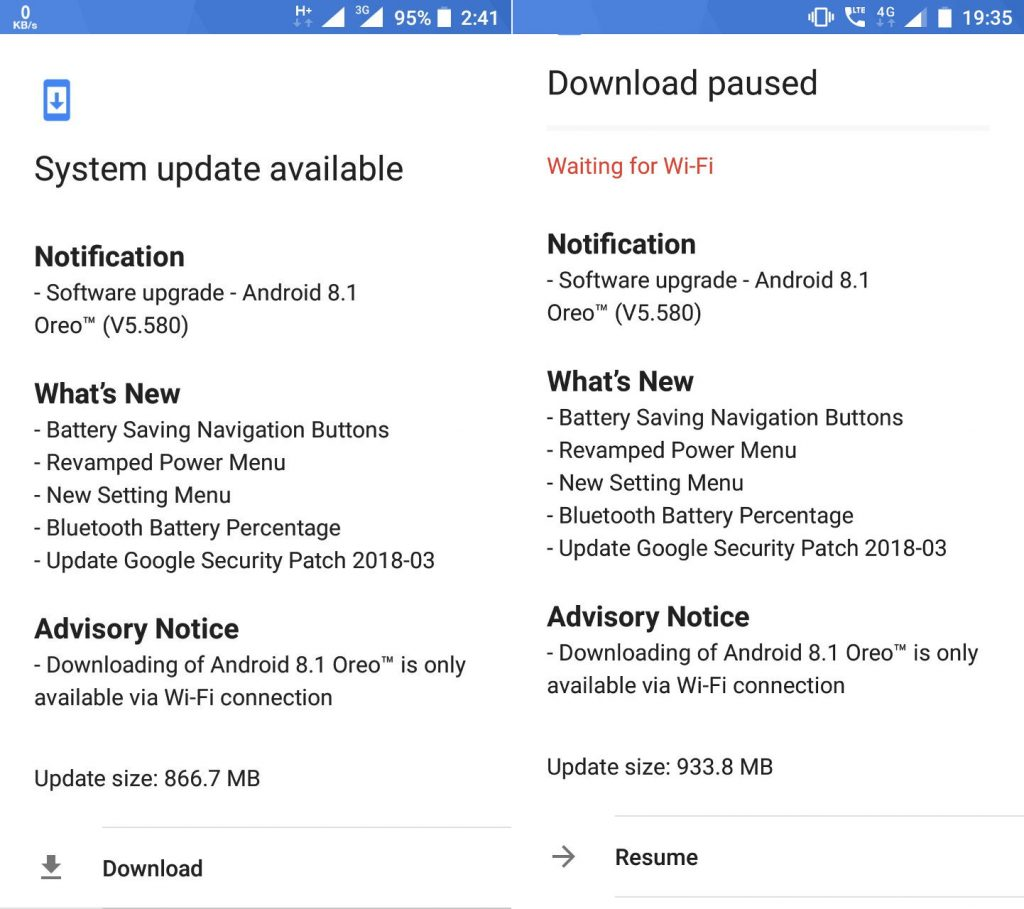 Nokia 5 and Nokia 6 Android 8 1 Oreo update starts rolling out