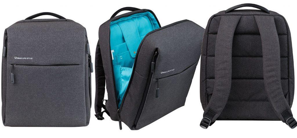Highlights of Xiaomi Mi City Backpack. Minimalist sleek design with hidden  zipper bbd07427846c8
