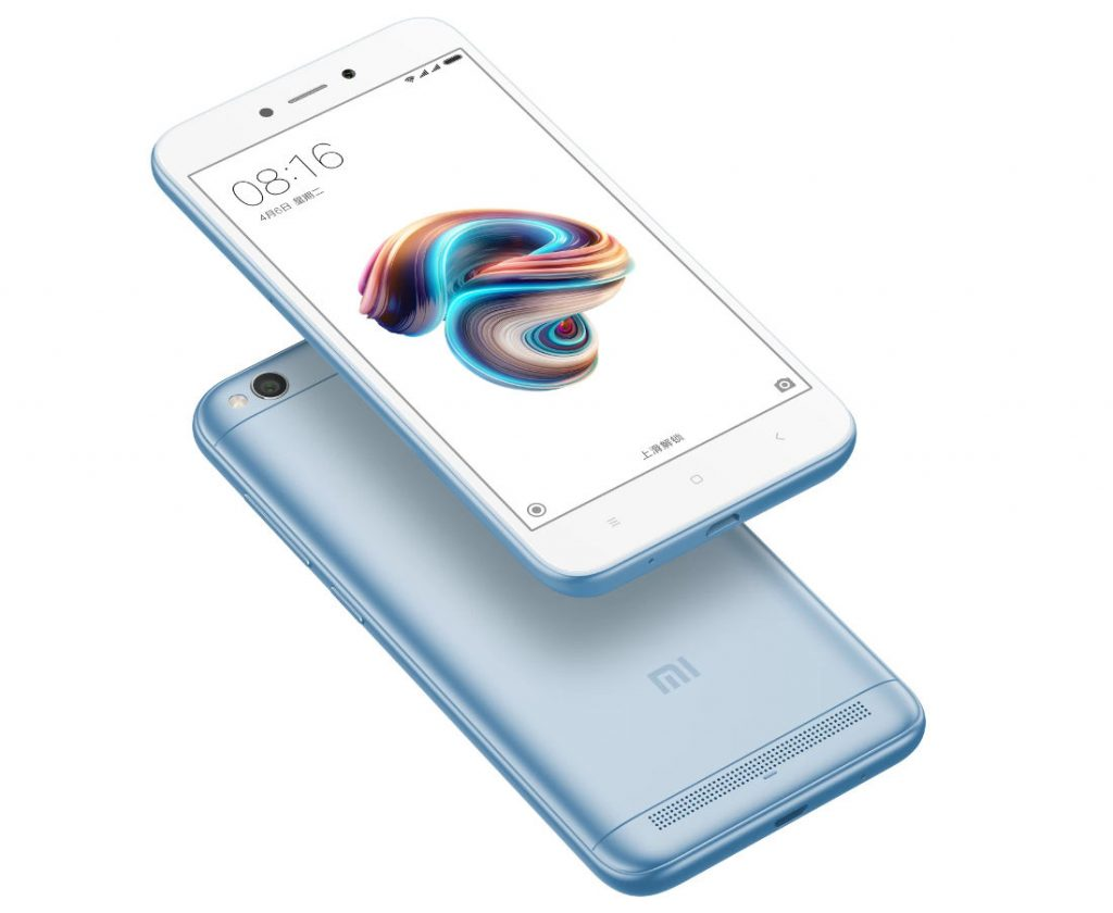 Xiaomi Redmi 5a Lake Blue Variant Launched In India Sales Cross 5 Xiomi Million Units Since Launch