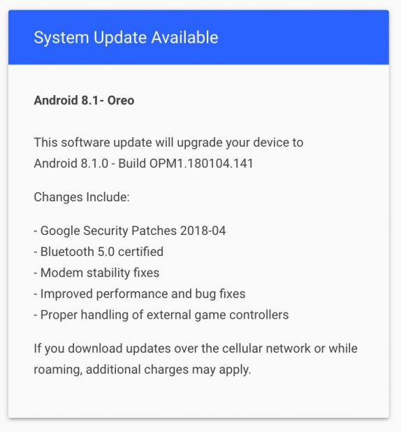 Essential Phone 8.1 update