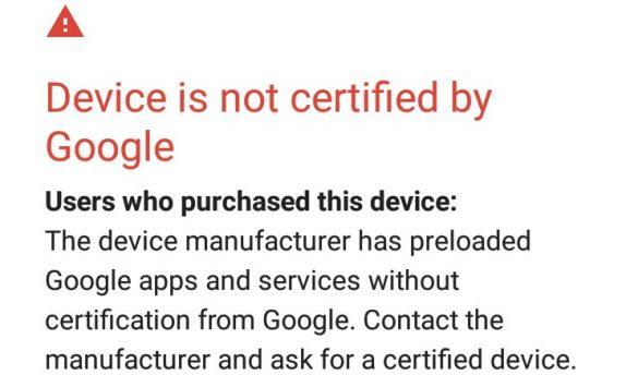 Google-Device-cerfification