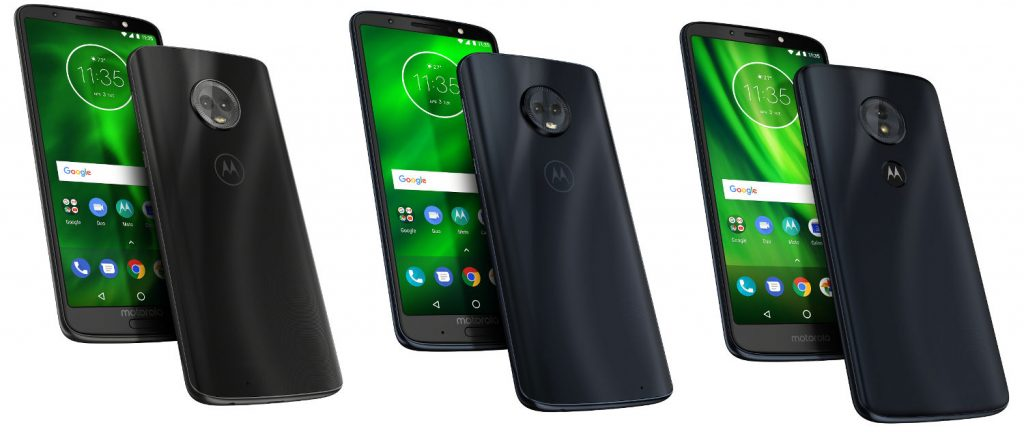 Moto G6, G6 Plus, G6 Play, E5 and E5 Plus with 18:9 displays
