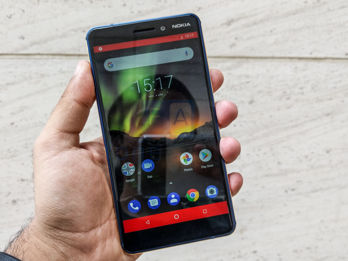 Nokia 6 2018 with 5 5-inch 1080p display, 16MP camera with