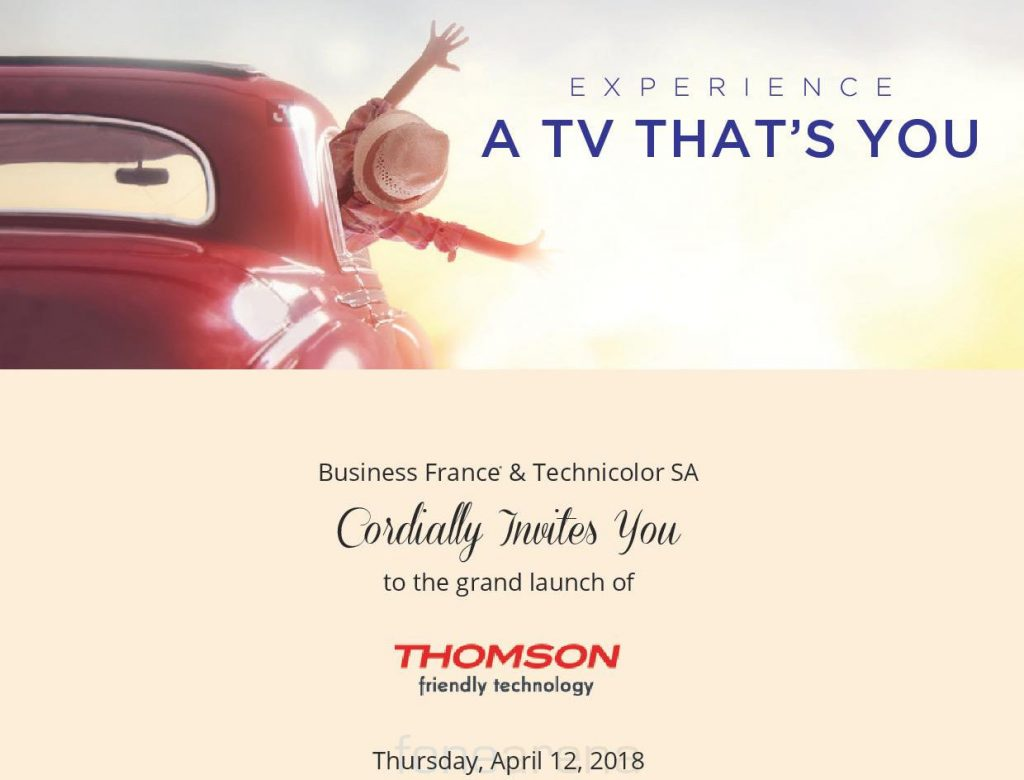 Thomson to re-enter Indian market with new LED TVs on April