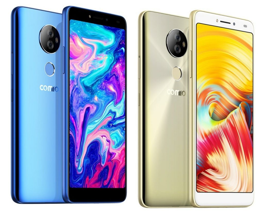 Comio X1 Note with 6-inch FHD+ display, dual rear cameras, Android
