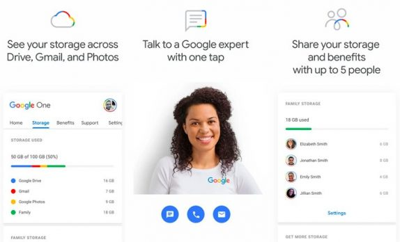 Google One Android app released on Play Store, service expected to