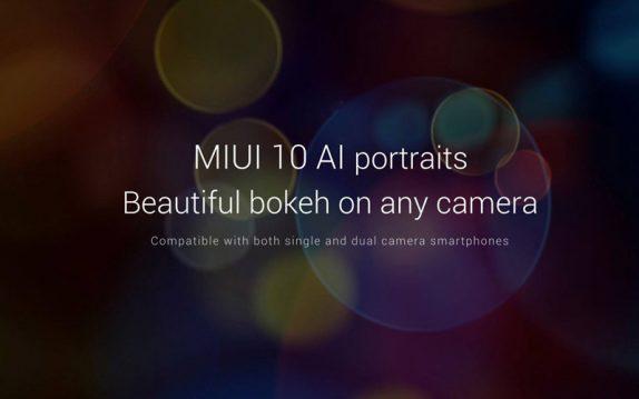 MIUI 10 AI Portraits