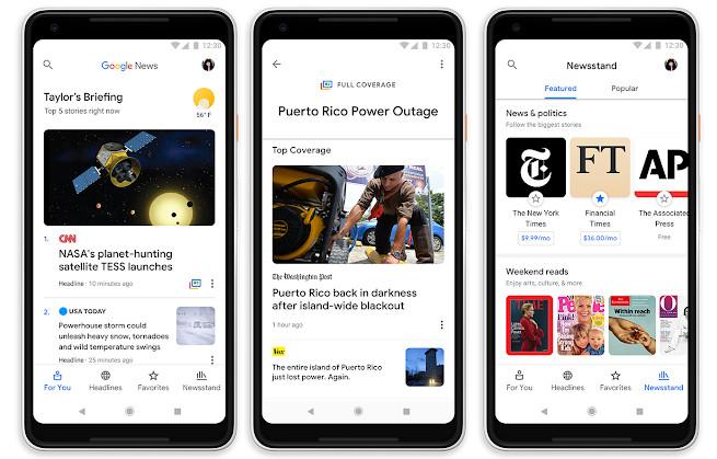 Google News now uses AI to organize news, replaces Google