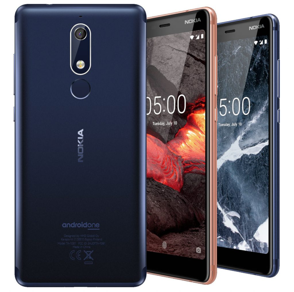 Nokia 5.1 Android One smartphone with 5.5-inch FHD+ ...
