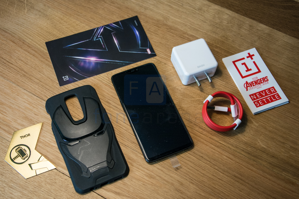best website a2cc3 866bb OnePlus 6 Marvel Avengers Edition Unboxing
