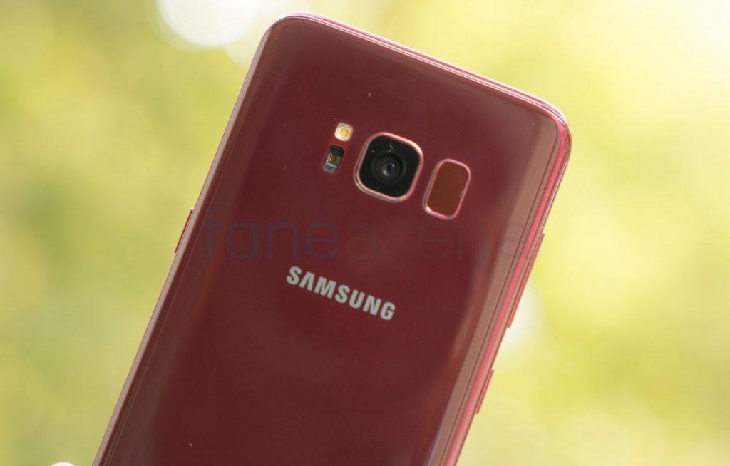 Samsung Galaxy S8 Burgundy Red_fonearena-13