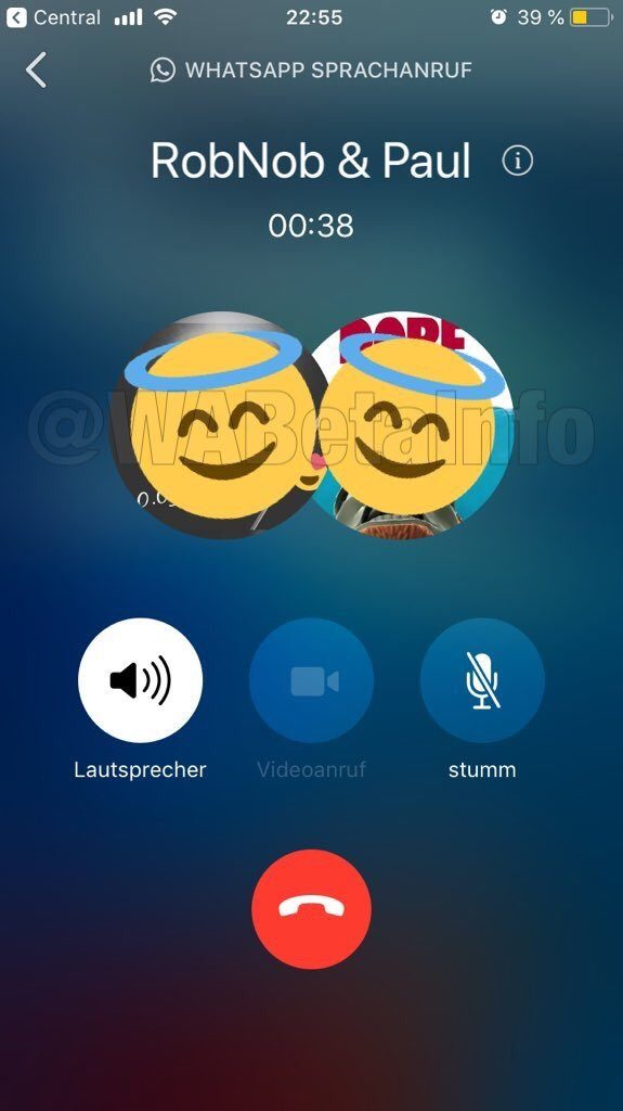 WhatsApp group audio call