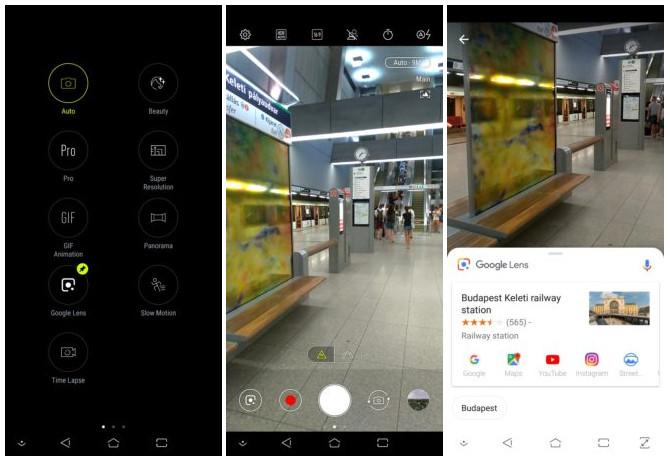 ASUS PixelMaster camera app update with Google Lens