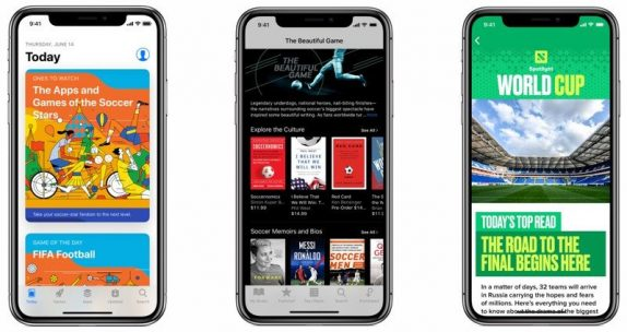 Apple to highlight up-to-date 2018 FIFA World Cup scores and