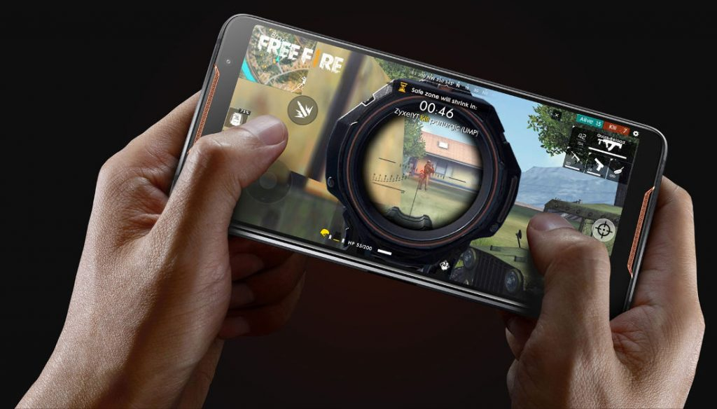 Pubg Hdr Phones: ASUS ROG Phone With 6-inch FHD+ AMOLED 90Hz HDR Display