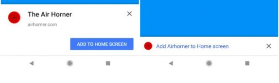 Chrome Beta 68 for Android shrinks install banners, brings new