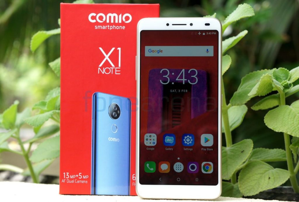 Comio X1 Note Review