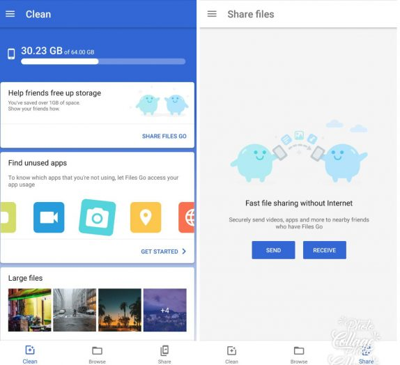 Google Files Go gets share tab, faster offline sharing, and