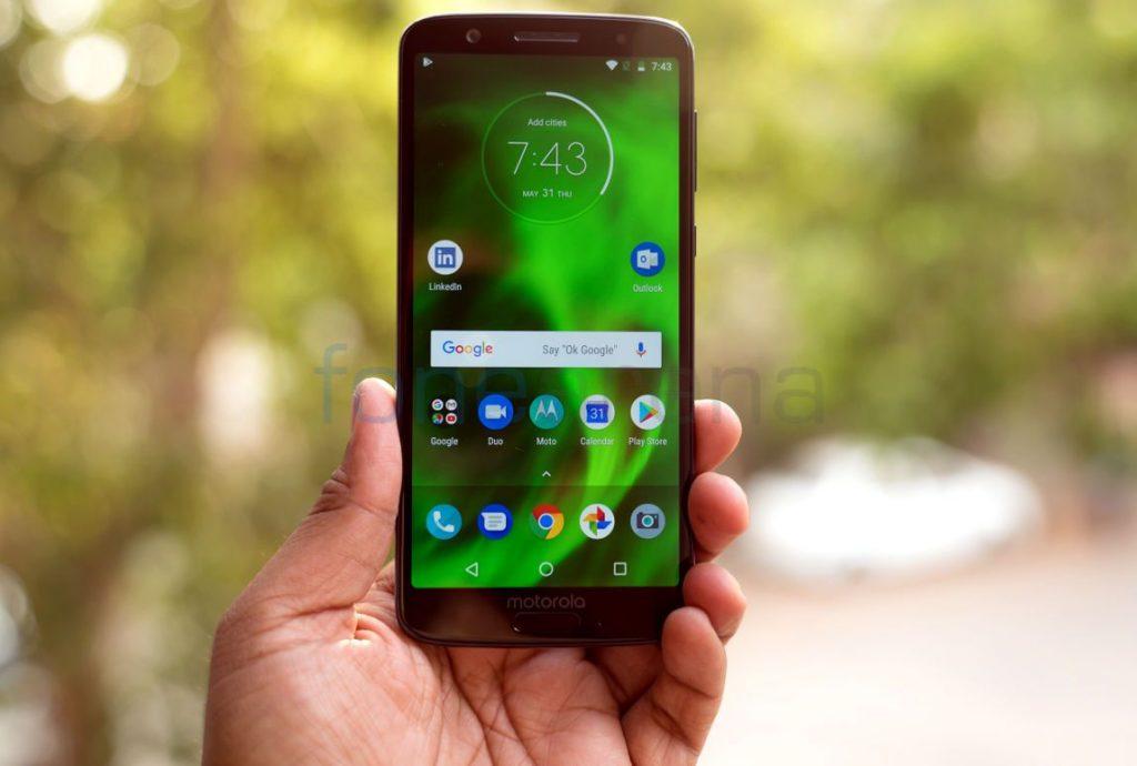 bfe6eee6605 Motorola launched the Moto G6