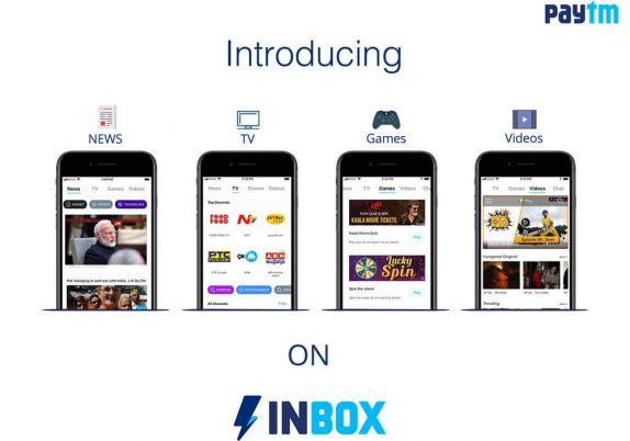 Paytm Inbox