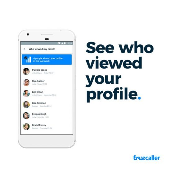 Truecaller Pro updated with re-designed Who Viewed My Profile