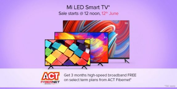 Xiaomi Smart LED TV offer