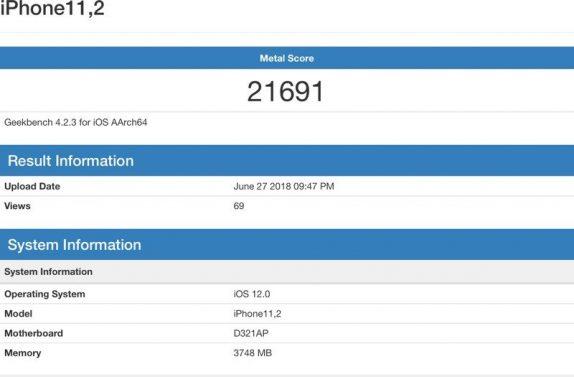 Apple iPhone 11,2