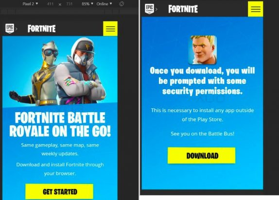 Fortnite for Android said to be launched alongside Samsung