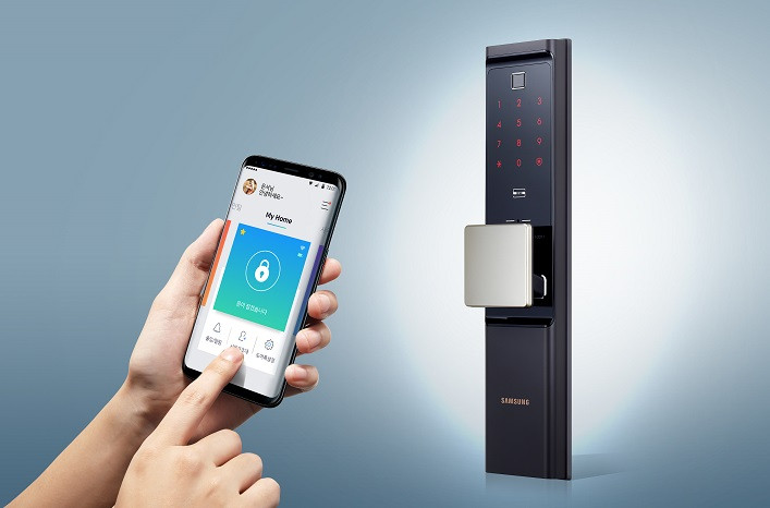 Samsung Introduces First Iot Powered Smart Door Lock With