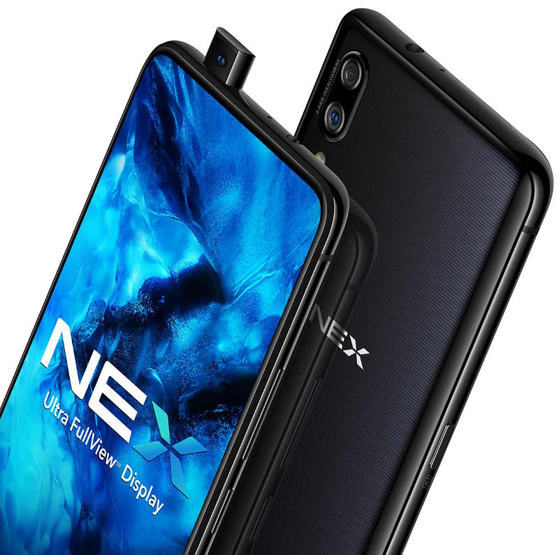 Vivo NEX with 6 59-inch FHD+ Super AMOLED display