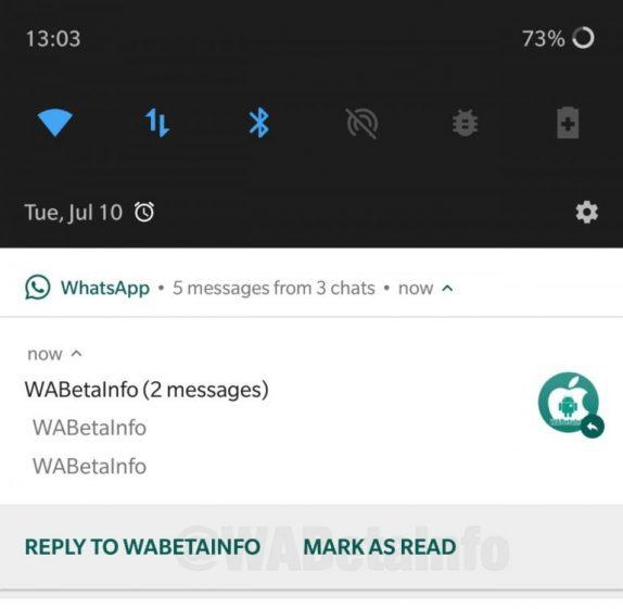 WhatsApp Mark as Read
