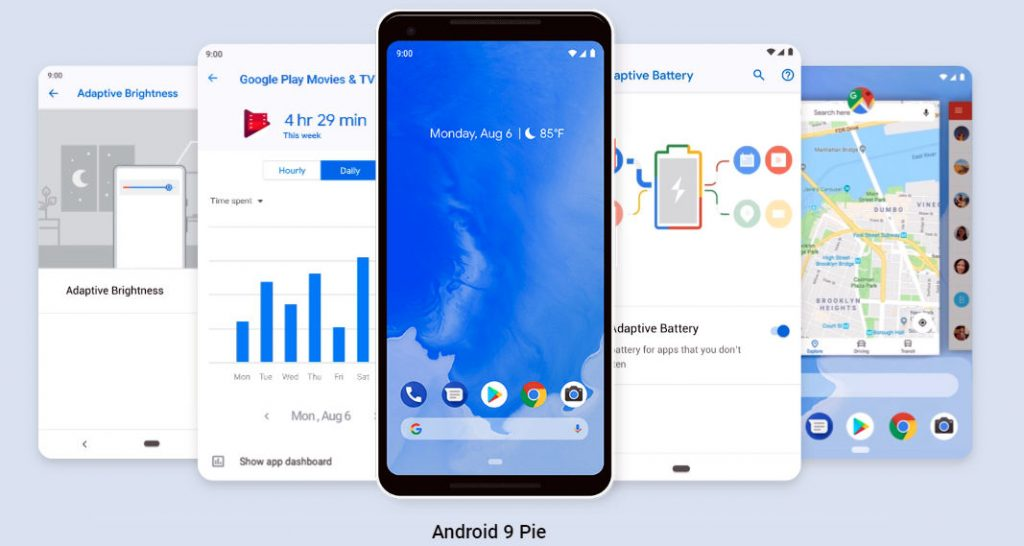 List of phones Getting Android 9.0 Pie update