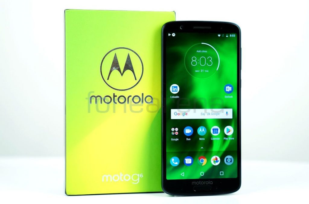 Android 9.0 Pie Phones Moto G6