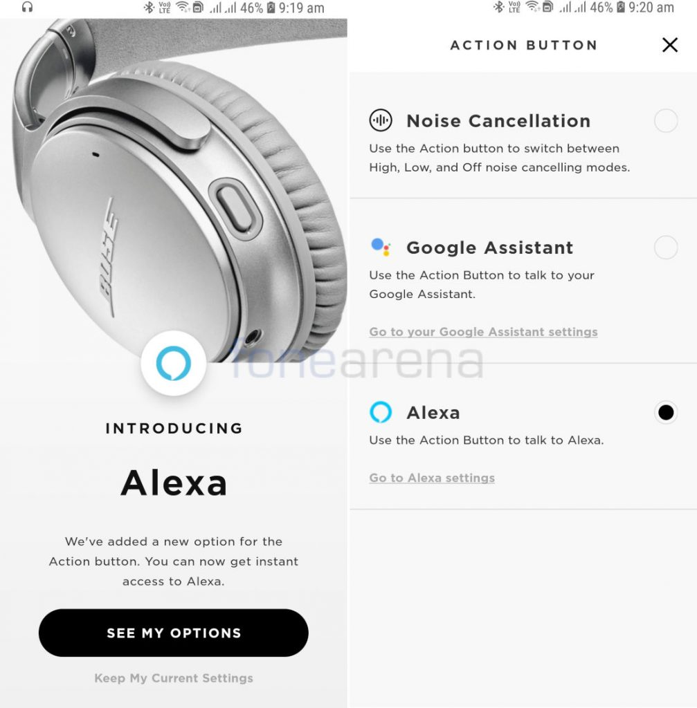 Bose QC35 II wireless headphones now supports Amazon Alexa